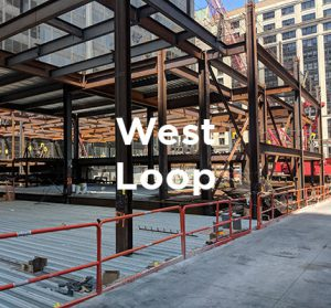 Expansion of office building in Chicago's West Loop